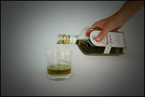 absinthe ritual - burning absinthe